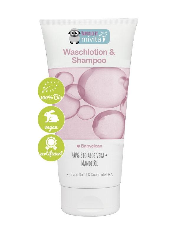 Babydaloe Waschlotion & Shampoo 40%